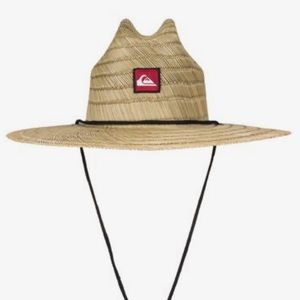 Quicksilver Pierside Straw Lifeguard Hat L/XL